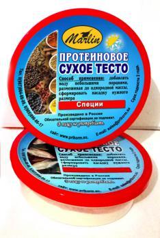"""Высокопротеиновое сухое тесто """"Специи"""" 150мл"""