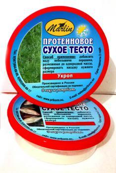 """Высокопротеиновое сухое тесто """"Укроп"""" 150мл"""