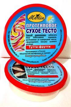 """Высокопротеиновое сухое тесто """"Тутти-фрутти"""" 150мл"""