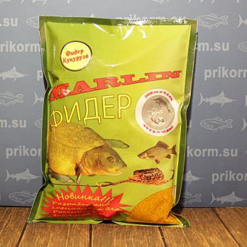 "Прикормка ""Марлин Фидер"" Кукуруза"