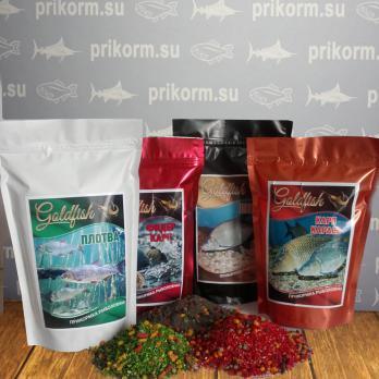 """Прикормка """"GoldFish Лето"""" Плотва Корица/Кориандр"""